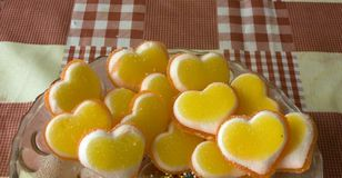 Marmellata d'arance Immagini Stock