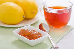 Marmellata d'arance del limone Immagine Stock Libera da Diritti