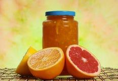 Marmellata d'arance dell'agrume Immagini Stock Libere da Diritti