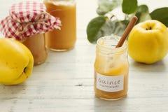 Marmellata d'arance della cotogna Fotografia Stock Libera da Diritti