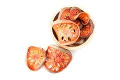 Marmelos de Aegle o fruta de Bael Fotos de archivo