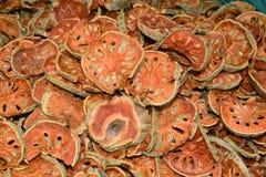 Marmelos de Bael Aegle Fotografía de archivo