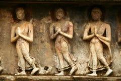 Marmer in complexe Sukhothai Royalty-vrije Stock Afbeelding