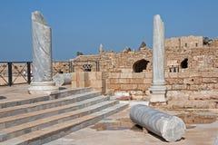 Marmer pilars Royalty-vrije Stock Afbeeldingen
