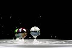 Marmer van water Stock Foto's