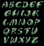 Marmeren alfabet, reeks royalty-vrije illustratie