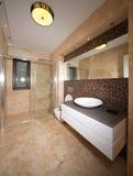 Marmeren badkamers royalty-vrije stock afbeelding