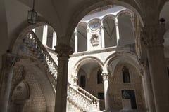 Marmeren Binnenplaats Stock Afbeelding