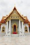 Marmeren boeddhismetempel Stock Afbeeldingen