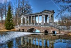 Marmeren brug Royalty-vrije Stock Afbeelding