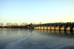 Marmeren brug Royalty-vrije Stock Afbeeldingen