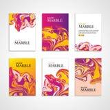 Marmeren de kaartachtergrond van de kleurentextuur Stock Foto's
