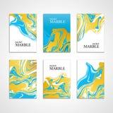 Marmeren de kaartachtergrond van de kleurentextuur Stock Afbeelding