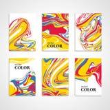 Marmeren de kaartachtergrond van de kleurentextuur Royalty-vrije Stock Foto's
