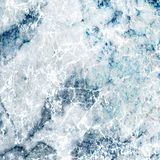 Marmeren Decoratieve Ontwerp van de hemel het Blauwe en Witte Mixer stock foto