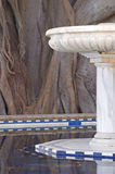 Marmeren fontein Stock Afbeelding