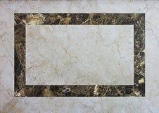 Marmeren frame achtergrond Royalty-vrije Stock Afbeeldingen