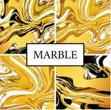 Marmeren gouden textuurachtergrond Royalty-vrije Stock Afbeelding