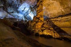marmeren hol in de Krim 4 royalty-vrije stock afbeelding