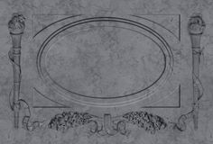 Marmeren kader Stock Afbeelding