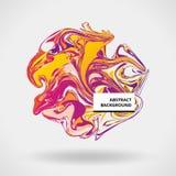 Marmeren kleuren abstracte achtergrond Royalty-vrije Stock Afbeelding