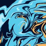 Marmeren kleurrijke achtergrond stock illustratie