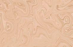 Marmeren kleurrijke inkt Veelkleurig marmeren patroon van het mengsel van krommen Royalty-vrije Stock Afbeelding