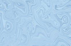 Marmeren kleurrijke inkt Veelkleurig marmeren patroon van het mengsel van krommen Royalty-vrije Stock Fotografie