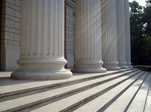 Marmeren kolommen Stock Afbeelding
