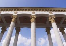 Marmeren kolommen stock foto