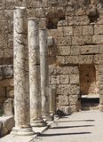marmeren kolommen Stock Foto's