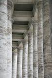 Marmeren kolommen in Rome, Italië. Stock Foto's