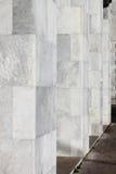 Marmeren moderne kolommen Stock Foto's
