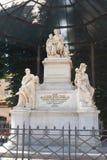 Marmeren monument Nikolai Demidov Royalty-vrije Stock Foto's