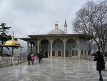 Marmeren moskee Royalty-vrije Stock Afbeelding