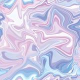 Marmeren naadloos patroon in neon brightful kleuren vector illustratie