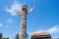 Marmeren pijler Royalty-vrije Stock Afbeeldingen