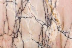 Marmeren plak, natuursteen De marmeren textuur lichte schaduwen Abst Stock Afbeelding