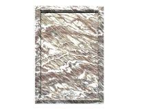 Marmeren Plaque royalty-vrije illustratie
