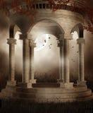 Marmeren rotonde Royalty-vrije Stock Afbeeldingen