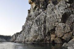 Marmeren rotsen Jabalpur Royalty-vrije Stock Fotografie