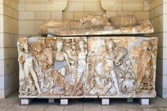 Marmeren sarcofaag Royalty-vrije Stock Fotografie