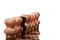 Marmeren schaak Stock Afbeeldingen