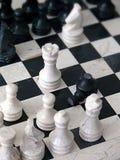 Marmeren schaak royalty-vrije stock fotografie