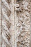 Marmeren snijdend fragment stock foto