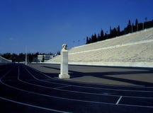 Marmeren Stadion in Athene Royalty-vrije Stock Foto's