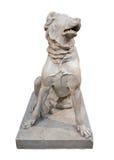 Marmeren standbeeld van een molossian hond Stock Foto