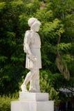 Marmeren standbeeld van Pericles in Athene, Griekenland Royalty-vrije Stock Fotografie