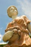 Marmeren standbeeld van vrouw Stock Afbeelding