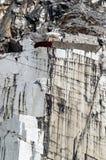 Marmeren steengroeve Royalty-vrije Stock Afbeeldingen